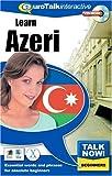 Eurotalk Talk Now! Learn Azeri (PC/Mac)