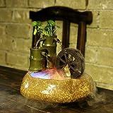 110/220 V Rustikale Keramik Dekorieren Bambus Brunnen Home Feng Shui Befeuchten Desktop Geschenke