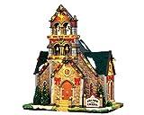 Lemax - Hillside Bell Chapel - 20,50cmx23,50cmx14,50cm - Beleuchteter Glockenturm - 4,5V - Porzellan