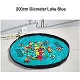 Portátil 78pulgadas Tamaño Grande Alfombra de juegos para niños alfombra infantil coche juguetes bolsa de almacenamiento organizador