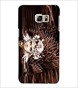 PrintDhaba Fantasy Girl D-5667 Back Case Cover for SAMSUNG GALAXY NOTE 5 EDGE (Multi-Coloured)