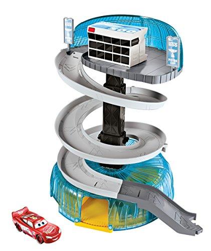 Mattel Disney Cars FCV99 - Disney Cars 3 Florida Rennstrecken-Turm Spielset - Spielzeug-rennstrecke