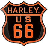 Harley-Davidson® Route 66 Tin Sign