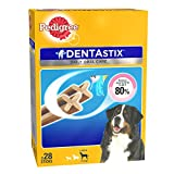 #10: Pedigree Dentastix (Value Pack)  Dental Care Dog Treat for Adult Large Breed(25 kg+) Dogs, 1.08 kg Monthly Pack (28 Sticks)