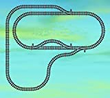Gebrauchte Bausteine Ersatz für Lego System Lego RC Eisenbahn Train 7895 7896 Schienen Set Weichen Tracks D KOMPATIBEL MIT Lego RC System