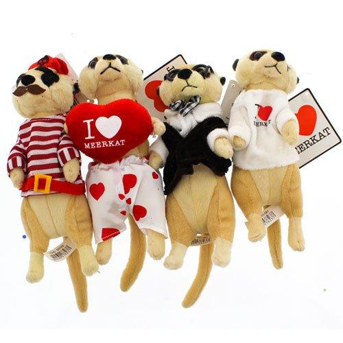 Image of Meerkats I Love Meerkats heart