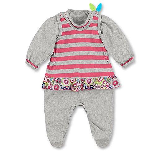 Sterntaler 2601621-050 Ensemble Pyjama en Jersey Coton Motif Emilie la Chouette 50 cm/0-2 Mois
