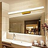 LIYAN minimalistische Wandleuchte Wandleuchte E26 /E27 Der Spiegel im Bad vorderen Leuchte led wasserdicht Bad wc Wandleuchten Waschbecken Waschbecken 簌 - Spiegel Spiegelschrank, 150 cm - Lampe warmweiss