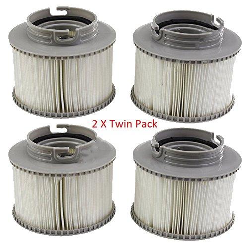 UTP Premium Qualität 2X Twin Pack Ersatz-Filter Patronen für MSpa Whirlpool -