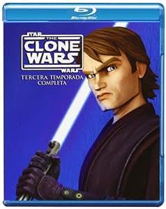 Star Wars: The Clone Wars - Temporada 3 [Blu-ray 3D] [Import espagnol]