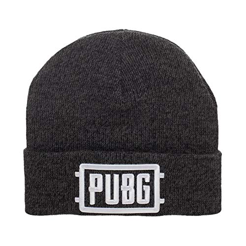 NJ Screen Prints Gorra PUBG Game Logo Gris