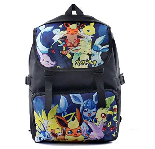 bonamana-cartoon-pokemon-pikachu-backpack-anime-school-bag-rucksack-for-teens-b