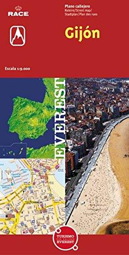 Gijón. Plano callejero (Planos callejeros/serie roja)