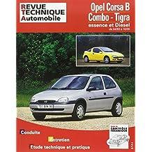 Revue technique automobile, numéro 563.4 : Opel Corsa B - Combo - Tigra (93/97)