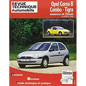 Revue technique automobile, numéro 563.4 : Opel Corsa B – Combo – Tigra (93/97)