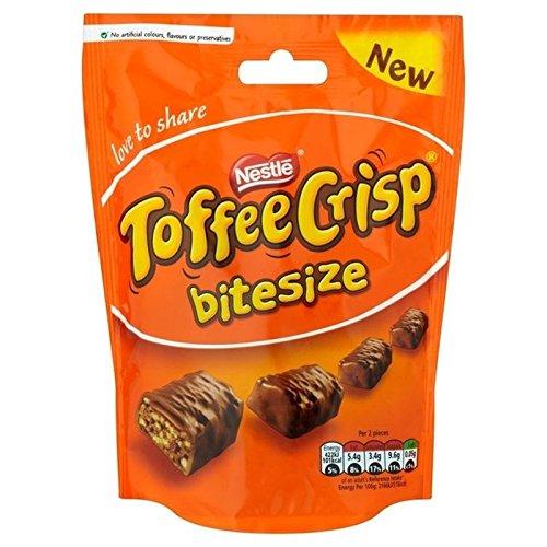 Nestlé Caramel Croquant Bitesize 120G - Paquet de 2