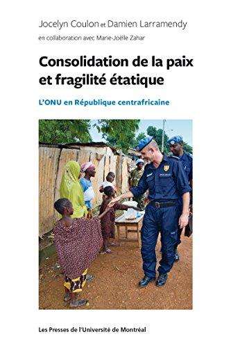 Consolidation de la paix: L'ONU en République...
