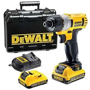 DEWALT DCF610D2 Visseuse compacte avec 2 batteries 10,8 V 2Ah