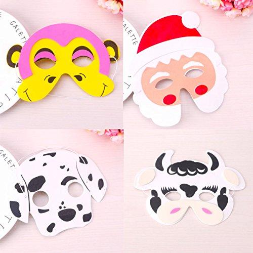 Halloween Kind Maske Cartoon Tier Maske Tier Schaum Masken Party (Schaum Gummi Kostüm)