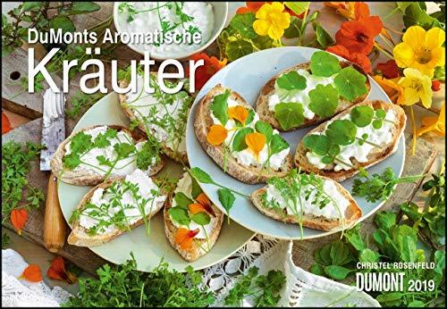 DuMonts Aromatische Kräuter 2019 - Broschürenkalender - Wandkalender - mit Rezepten und Texten - Format 42 x 29 cm