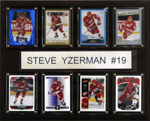 C & I Collectables NHL Steve Yzerman Detroit Red Wings 8 Karten