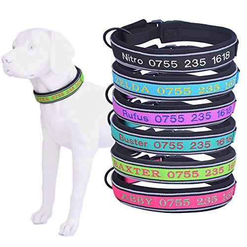 Collar de perro personalizado-Forro suave