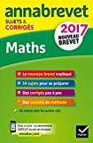 Mathématiques : Sujets et corrigés