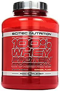 Scitec Nutrition Whey Protein Professional, Karamel, 1er Pack (1 x 2350 g)