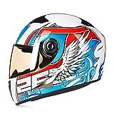 LL Motorrad Racing voll Helmet-Outdoor-Anti-Nebelreiter Vier Jahreszeiten,1,L