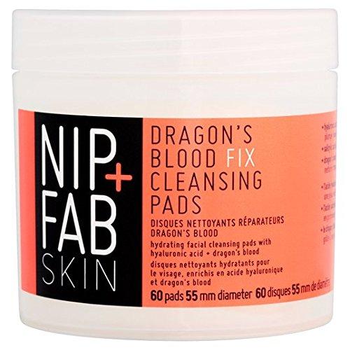 Nip + Fab Dragons sang Fix Pads nettoyantes 60 par paquet