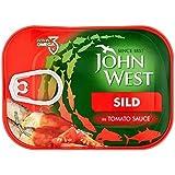 John Sild Ouest En Sauce Tomate 110G (Paquet de 6)