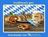 Holz Bierkrug mit Gravur – personalisiert mit Name – individuelles Geschenk, jeder Holzkrug ist ein echtes Unikat! Geschenkidee für Bierfreunde, Sammlerstück, bayerische Souvenirs – typisch deutsche Geschenke von Geschenkissimo - 2