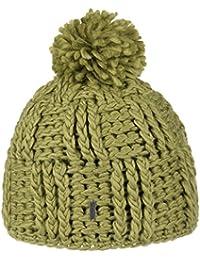 9f464a69587 McBurn Coarse Knit Pompom Hat Beanie Women´s