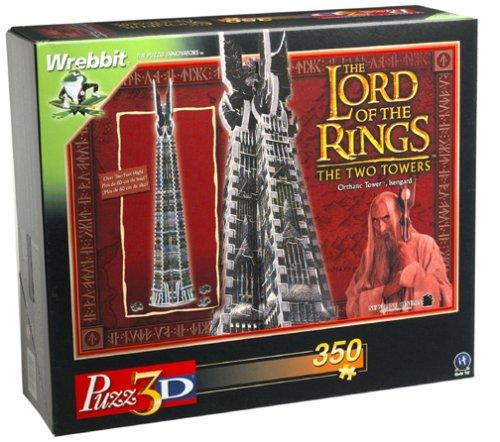Puzzle 3D Seigneur des Anneaux les Deux Tours
