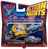 Disney Pixar Cars 2 Action Agents Finn Mcmissile Vehicle