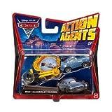 Cars 2–V3018–Fahrzeug Miniatur Fahrzeug Aktion Agent–Finn McMissile