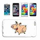 Phone Case Samsung Galaxy S5 FUNNY PIG IN RACE Domestic PIG warthog WILDBOAR