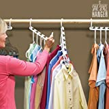 Hanger - Perchas múltiples save space hanger (pack de 8)