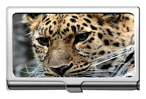 Visitenkartenetui, Leopard Wild Leopard Visitenkartenetui Wallet Kreditkartenetui