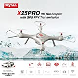 Dailyinshop Syma X25PRO RC FPV Quadcopter Drone 720P HD WiFi Cámara Ajustable GPS