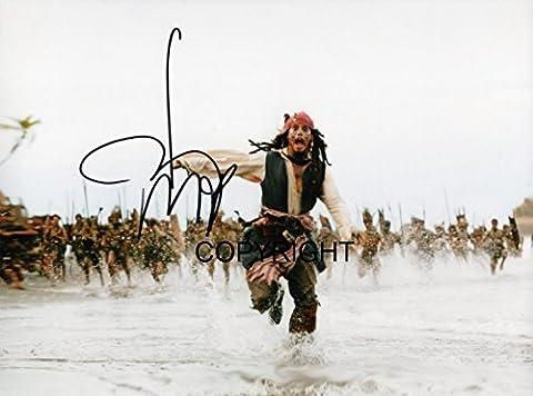 Édition limitée Johnny Depp Photo dédicacée par autographe