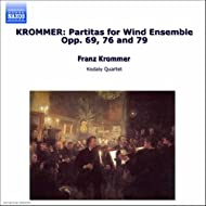 Krommer: Partitas For Wind Ensemble Opp. 69, 76 And 79