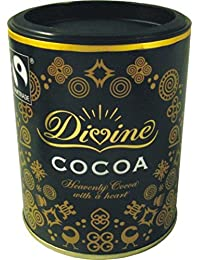 Divine Fairtrade Organic Cocoa Powder 125 g (Pack of 3)