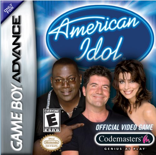 Click for larger image of American Idol (Gameboy Advance)