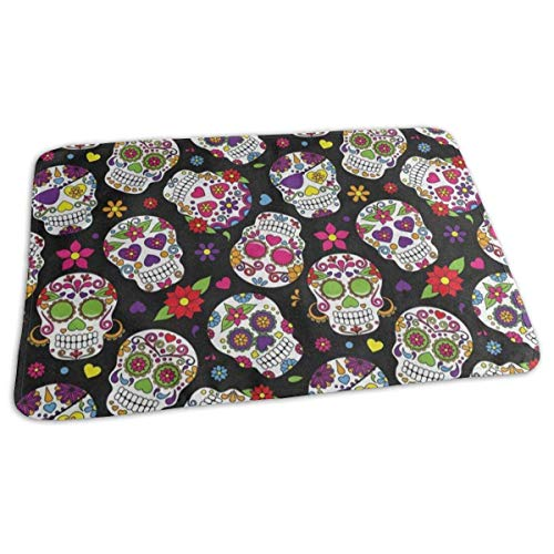 Voxpkrs Changing Pad Sugar Skull Floral Print Baby Diaper Urine Pad Mat Cool Girls Sheet Sheet for Any Places for Home Travel Bed Play Stroller Crib Car -
