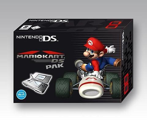 Nintendo DS - Konsole Silber inkl. Mario Kart DS