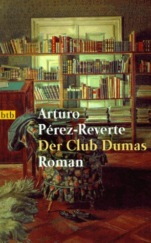 Buchseite und Rezensionen zu 'Der Club Dumas' von Arturo Perez-Reverte