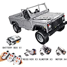 TGSEA Block Technic Series 23003 Land-Rover Defender 110 Technic 1:8.4 Bloques de