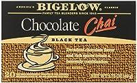 Bigelow Chai Tea, Chocolate, 20 Count (Pack of 6)