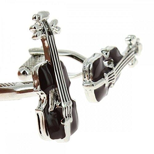 Clj Charles Le Jeune Manschettenknöpfe mit Stradivari-Geige